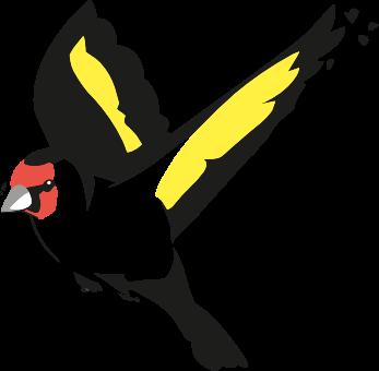 Vogel aus Aktion Grün Logo