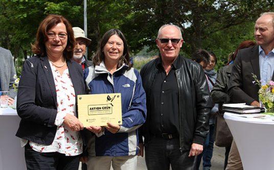 """Auszeichnung der """"Aktion Grün""""-Kommune Weiler"""