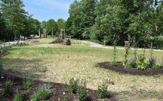 """Projektfläche """"Artenvielfalt und Klimagarten"""" in Herxheim"""